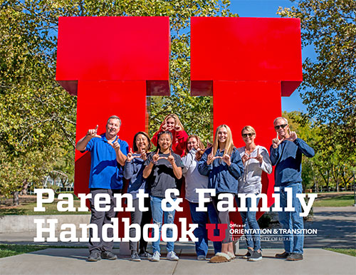 parent family handbook cover